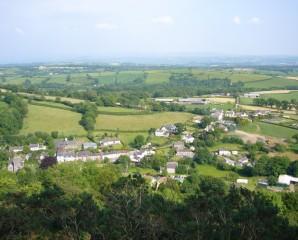 Llanfynydd above